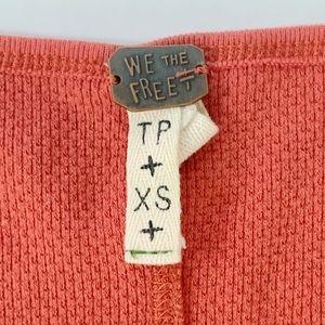 Free People Tops - Free People Thermal Long Sleeve Shirt